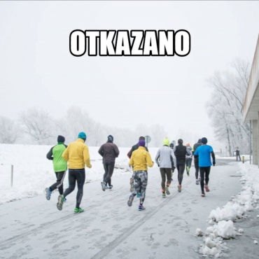 OTKAZAN 5. Zimski polumaraton i Mrzli cener